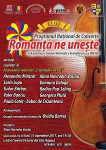afis-Cluj-concert Romanta ne uneste-optimizata-web (1)
