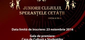 """23 noiembrie 2016 – termenul limită pentru înscrierile pentru cea de a VIII-a  ediție a Galei ,,10 pentru Cluj"""" – Juniorii Clujului, Speranțele Cetății"""""""