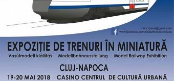 Expoziție de machete feroviare la Casino de Zilele Clujului și Noaptea Muzeelor