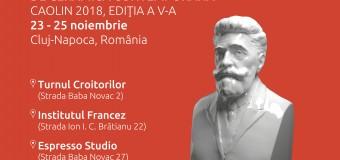 Programul complet al Festivalului Internațional de Ceramică Contemporană – CAOLIN 2018.
