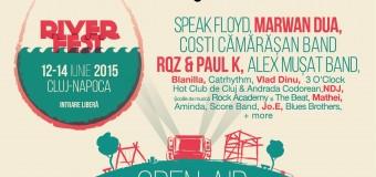 """Timp de 3 zile, RIVER FEST își propune să """"navigheze cu artiștii  pe Someș""""!"""