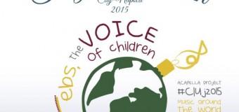 Peste 1.200 de copii din Cluj-Napoca și alte alte nouă țări vor cânta în sincron live un  colind a capella pe cinci voci în cea de a zecea zi a Târgului de Crăciun din Cluj-Napoca