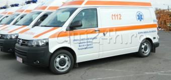 34 de ambulanţe noi vor fi repartizate Clujului în 2019