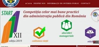 ANFP dă startul unei noi competiţii a bunelor practici din administraţia publică