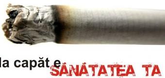 Tinerii își cer dreptul la sănătate, prin adoptarea legii privind interzicerea fumatului în spațiile publice închise