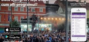 Prima aplicație mobilă pentru Zilele Clujului