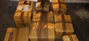 350 de kilograme de articole pirotehnice confiscate de polițiști.