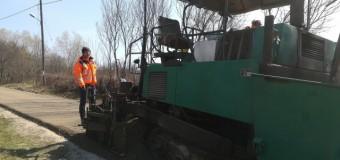 Consiliul Județean a demarat pe drumul județean 161C Corneni lucrări ce se vor finaliza cu așternerea de covor asfaltic