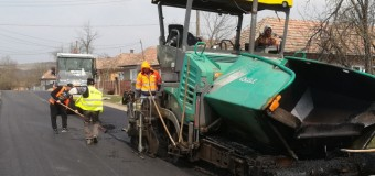 Au demarat lucrări de întreținere, cu asfaltare, pe drumul judeţean 161 (DN 1C) – Dăbâca – Panticeu