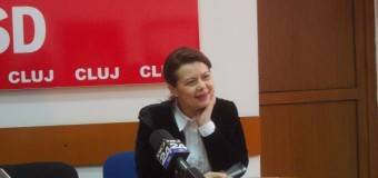 Aurelia Cristea a demisionat din funcţia de preşedinte a PSD Cluj-Napoca. A pierdut şi susţinerea partidului pentru candidatură