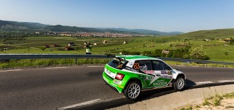 Italienii Basso și Granai, pe prima treaptă a Telekom Sport Transilvania Rally powered by Ford