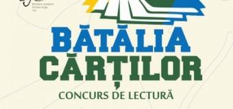 """Concurs naţional de lectură –  """"Bătălia Cărţilor  """""""