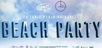 Vremea urâtă a anulat două activităţi din Beach Party-ul pe plaja Grigorescu. Organizatorii sunt optimişti