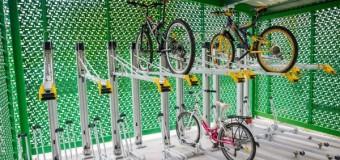 Premieră la Cluj-Napoca: containere securizate pentru biciclete.