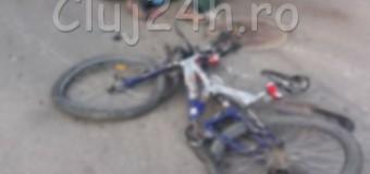 Atenţie, imagine cu impact emoţional puternic! Accident mortal la Floreşti. Un biciclist a murit după ce a fost lovit de o autobasculantă.