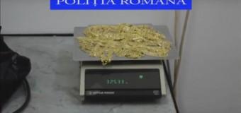 Bărbat prins în trafic la Floreşti transportând bijuterii din aur. Poliţiştii l-au amendat dar au şi confiscat o parte din marfă pentru care nu avea acte.