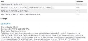 """Liderii PRU de la Cluj aduc acuzaţii grave BEJ-ului: """"Nu au verificat listele de susţinători"""""""