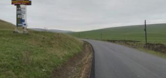 Asfaltarea sectorului de drum județean Boian – Frata, finalizată.