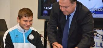 Sportivul Alexandru Bologa a fost premiat de Consiliul Județean Cluj.