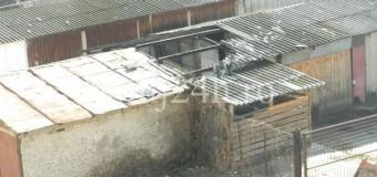 [FOTO]Exclusiv!O boxă a fost incendiată la Floreşti şi cauciucurile a 25 de maşini au fost tăiate. Cine a făcut asta?