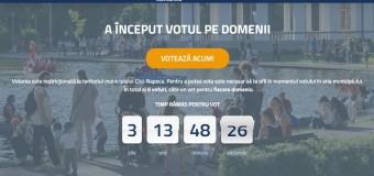 Ultimele zile de vot din etapa Vot pe domenii în cadrul procesului Bugetare participativă Cluj-Napoca 2018