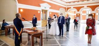Cluj-Napoca: Căsătorii în vremea pandemiei!