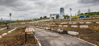 Cluj-Napoca: lucrările la noul cimitir se apropie de finalizare.