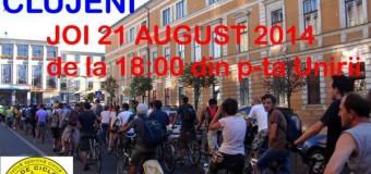 O nouă ediţie a marşului bicicliştilor are loc astăzi