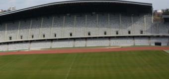 Gazonul de pe Cluj Arena, din ce în ce mai pregătit pentru marele meci