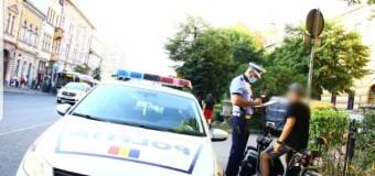 Cluj-Napoca: peste 120 de sancțiuni date de polițiști în trafic.