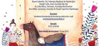 Fundația Pentru Comunitate anunţă Conferinţa naţională de hipoterapie la Carei în 6 iunie.