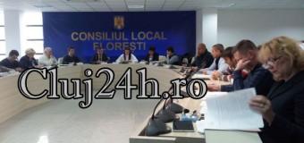 Sedinta de Consiliu Local Floresti, noiembrie 2016