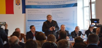 A fost semnat primul contract de lucrări din județul Cluj, aferent Proiectului regional de apă în valoare de 355,6 milioane de euro