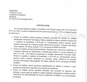convocator 29 nov 2017