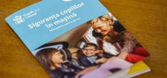"""""""Copil Iubit la Bord"""" – jumătate dintre copiii pasageri implicați în accidente în Cluj nu foloseau nici un dispozitiv de fixare în scaun."""