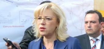 Comisarul Corina Cretu a aprobat 3 proiecte de infrastructura rutiera in valoare de 407 milioane euro in Romania