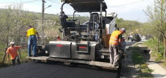 Au fost finalizate lucrările de asfaltare pe drumul judeţean 161C Corneni