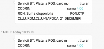 Serviciul de plata prin sms al CTP Cluj-Napoca dă rateuri mari. Călătorii ajung să plătească o călătorie de mai multe ori