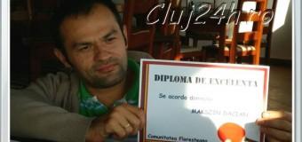 Dacian Makszin a primit o Diplomă de Excelenţă din partea cetăţenilor comunei Floreşti. Sunteţi minunaţi floreşteni!