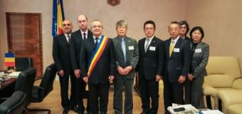 Delegaţie japoneză la Primăria Cluj-Napoca