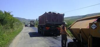Se lucrează pe drumul județean Nireș – Valea Ungurașului