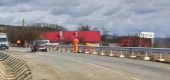Consiliul Județean Cluj a reluat lucrările de modernizare pe Drumul Bistriței