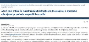"""PRO România Cluj: """"Asigurați accesul echitabil la educație pențru țoți copiii!"""""""