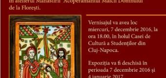 """""""Tradiție și icoană transilvană de Crăciun""""- expoziție de icoane la Casa de Cultură a Studenților"""