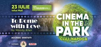 Serile cu filme continuă în Iulius Parc