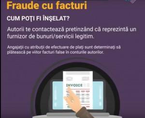 fraude cu facturi pe onternet