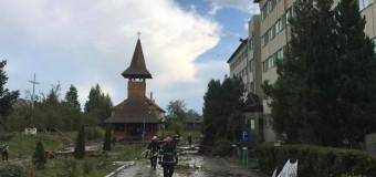 ISU Cluj: 44 de localități afectate și 5 persoane rănite ușor în urma fenomenelor meteo periculoase de ieri.