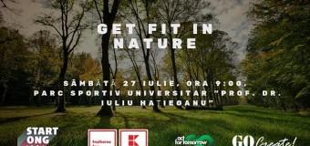 GET FIT IN NATURE: mișcare în aer liber pentru un stil de viață sănătos și activ