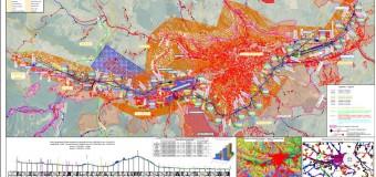 Primăria Cluj-Napoca anunță demararea lucrărilor de întocmire a studiilor topografice și geotehnice pentru Centura Metropolitană.