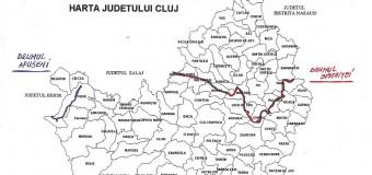 CJ Cluj demarează licitația de modernizare, cu fonduri europene, a DJ 109–Drumul Bistriței